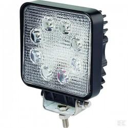 1400492430, 492430 LAMPA ROBOCZA LED KWADRAT 10-30V 24W