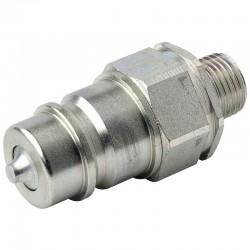 QCPM12L16 Szybkozłącze ISO 7241A, ISO 12,5, M16x1,5, wtyczka