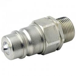 QCPM12L22 Szybkozłącze ISO 7241A, ISO 12,5, M22x1,5, wtyczka