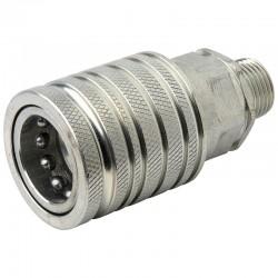 QCPF12L18, 81511006 Szybkozłącze ISO 7241A, ISO 12,5, M18x1,5, gniazdo