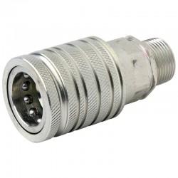 QCPF12L22, SKPF12L22N  Szybkozłącze ISO 7241A, ISO 12,5, M22x1,5, gniazdo