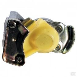 T711607, 82770291 Główka sprzęgu, żółta, autom. M22