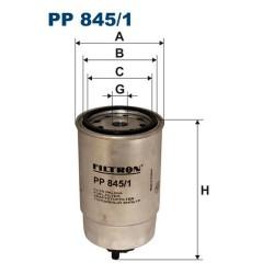 PP845/1, PDS713 FILTR PALIWA PP845/1 PDS713 FILTRON
