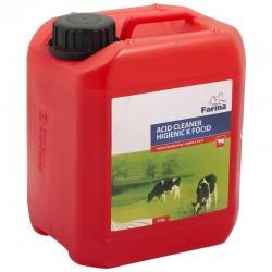 """1580050106FA, 050106FA Kwaśny środek myjący """"Higienic K"""" Farma, 6 kg"""
