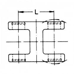 2023103 Widłak podwójny seria W, 78 mm, W2200