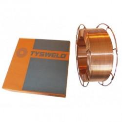 Drut spawalniczy TYSWELD MIG/MAG SG2 1.0 15kg szpula