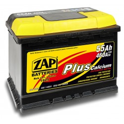 555 59, 55559 Akumulator ZAP Plus, 12V, 55Ah, 460A
