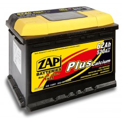 572 58, 57258 Akumulator ZAP Plus 12V 72Ah 640A