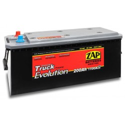 70013, 700 13 Akumulator ZAP TRUCK EVOLUTION, 12V, 200Ah, 1100A