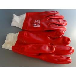 100350 Rękawice ochronne PCV ze ściągaczem