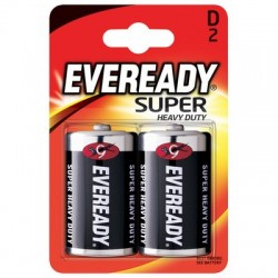 Bateria EVEREADY Super Heavy Duty, D, R20, 1.5V