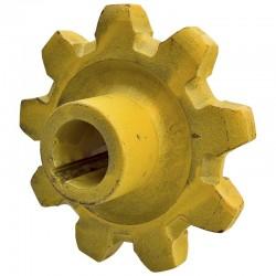 303080417785, 80417785 Koło podajnika, ziarnowego dolne, Z-9, O 30 mm, New Holland