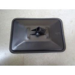 LS0001, LZU13, 1701 Lusterko z metalowym uchwytem i plastikowa tuleja 310 x 205 obejma