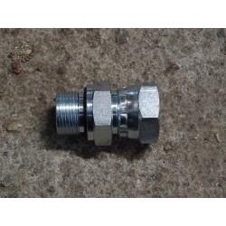 110130115L, 080028050 Złącze proste z nakrętką, M22 x 1.5 15L