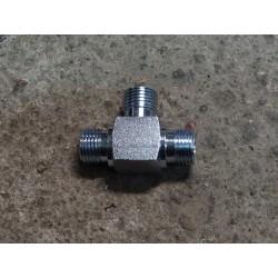 110128210L, 080060017 Trójnik hydrauliczny metryczny BBB 16 M16x1.5