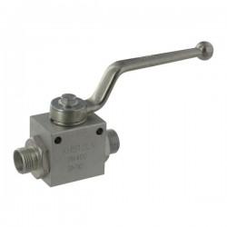 KHBM16X15, KHS10LN Zawór kulowy hydrauliczny dwudrożny M16x1.5,