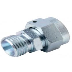 Złącze proste z nakrętką, M18 x 1.5 12L - M14 x 1.5 10L