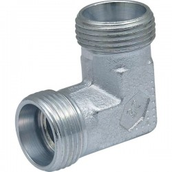 D889110127716P, 080040030 Kolanko hydrauliczne metryczne BB 90 22/22 M22x1.5/M22x1.5,