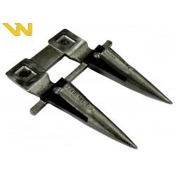 505002005, W5050020050/1 Bagnet palec podwójny ze stalką Bizon Waryński