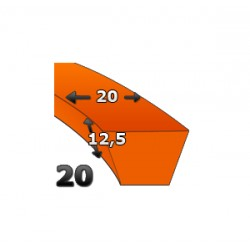 PK203880, PK20X3880 PAS 20X12.5 3880