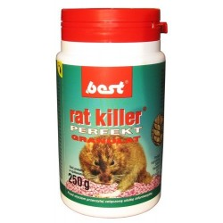 """1704010025, 010025 Granulat na myszy i szczury """"Rat killer perfekt"""", 250 g"""