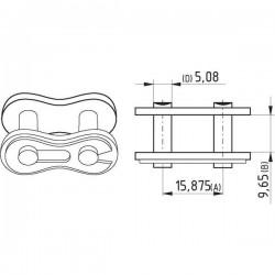 """K1610D Zamek łańcucha Steel Power 5/8"""", x 3/8"""""""