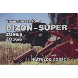 30205056000001, 5056000001 Katalog części Kombajn zbożowy, pasuje do Bizon, Z-056