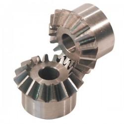 MOD31616 Zestaw kół zębatych stożkowych moduł 3, 1:1
