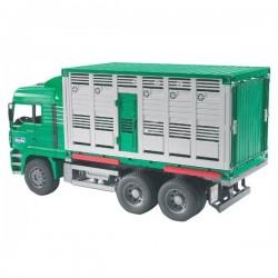 U02749, U 02749 Ciężarówka MAN do przewozu zwierząt