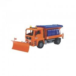 U02767, U 02767 Ciężarówka MAN piaskarka z pługiem śnieżnym