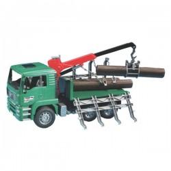U02769, U 02769 Ciężarówka MAN do przewozu bel drewna