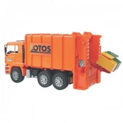 U02762, U 02762 Śmieciarka LOTOS z tylnym załadunkiem