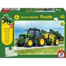 SH55625, 55625 Puzzle John Deere 6630 z opryskiwaczem, z traktorem Siku