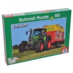 SH55054, 55054 Puzzle Traktor Fendt
