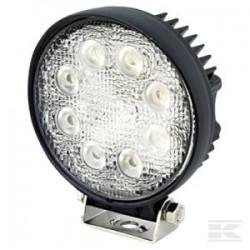 14004924301 4924301 Lampa robocza okrągła LED, 10-30V, 24W światło skupione