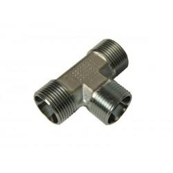 080060030 Trójnik hydrauliczny metryczny BBB 22 M22x1.5