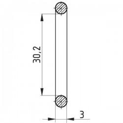 112530203, W142, W15793 Pierścień oring, 30.2 x 3, 30X2, O30X2