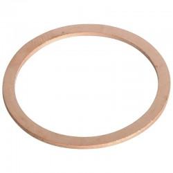 CU303615P025, 303615P025 Podkładka miedziana, 30 x 36 x 1.5 mm 30x36x1.5