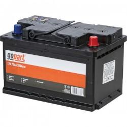 1072004  Akumulator 12V 72AH 700A, Gopart