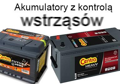 akumulatory do ciagników z kontrolą wstrząsów CENTRA
