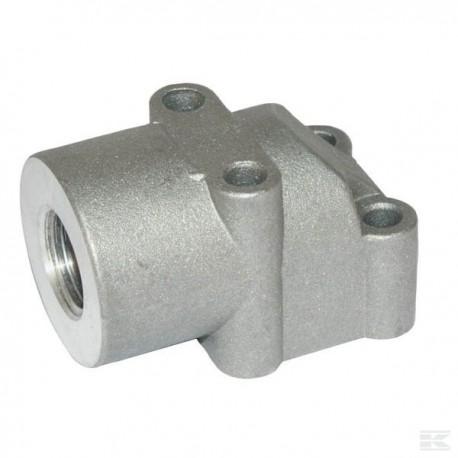 """Przyłącze kołnierzowe, GB G3/8"""" - 35 mm"""