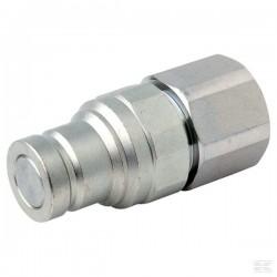 """D890SKFM10C08 Szybkozłącze płaskie SKFM - wtyczka, ISO 16028, gwint wew. G1/2"""", ISO10"""