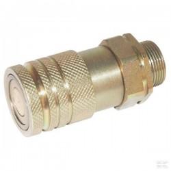 SKVF10L18 Szybkozłącze gniazdo płaskie, FH101L1218