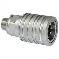 D890-SKPF12L16 Szybkozłącze grzybkowe SKPF-L - gniazdo, ISO7341-A, gwint zew. M16x1,5, ISO12,5