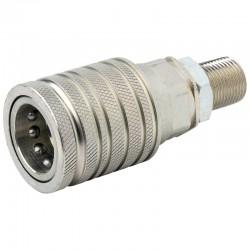 QCPF12N18, D890-SKPF12N18 Szybkozłącze ISO 7241A, ISO 12,5, M18x1,5 panelowy, gniazdo