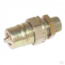 SKPM12N22, QCPM12N22 Szybkozłącze panel ISO 12,5 M22 x 1,5 - wtyczka