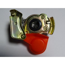 699076.912-00 Złączka pneumatyczna M22x1.5, dwudrożna czerwona- zapas