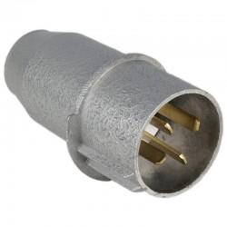 1760532401, 532401 Wtyczka prosta metalowa 4P, 32 A IP44 typ 3141-326