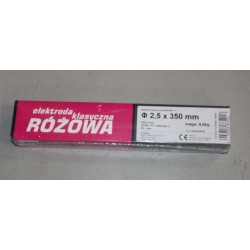 Elektroda klasyczna różowa 4.0 x 350mm 4.5kg