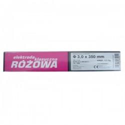 Elektroda klasyczna różowa 3.2 x 350mm 4.5kg